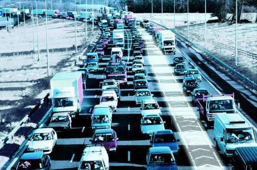 Sõiduautod kiirteel